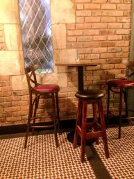 bar stools and table tops