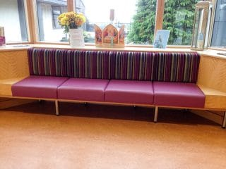 health care bench seating