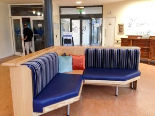 health care waiting room seating